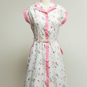 Vintage Dresses - 1950s novelty dress